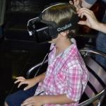 08-La postazione di realtà virtuale con tecnologia Oculus Rift, messa disposizone dal VIGAMUS