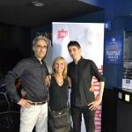 10-Marcello Rossi e Luca Ruocco con Simona Pedroli, ufficio stampa del Fantafestival