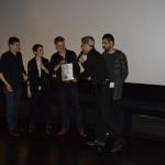 20-Il regista Andreas Marschall ritira la targa per German Angst