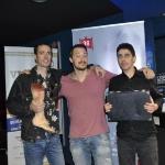 25-Filippo Santaniello, Stefano Rossi e Luca Ruocco, tre degli autori del libro Strisciano sull'asfalto