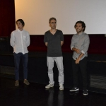 29-Vincenzo Alfieri, con il giovane attore Guido Quaglione, presenta il suo corto Il lato oscuro