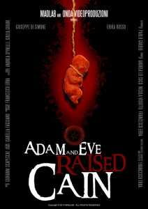Adam and eve raised cain poster