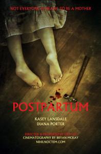 Postpartum 4x6 poster