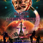 blood on melies' moon poster